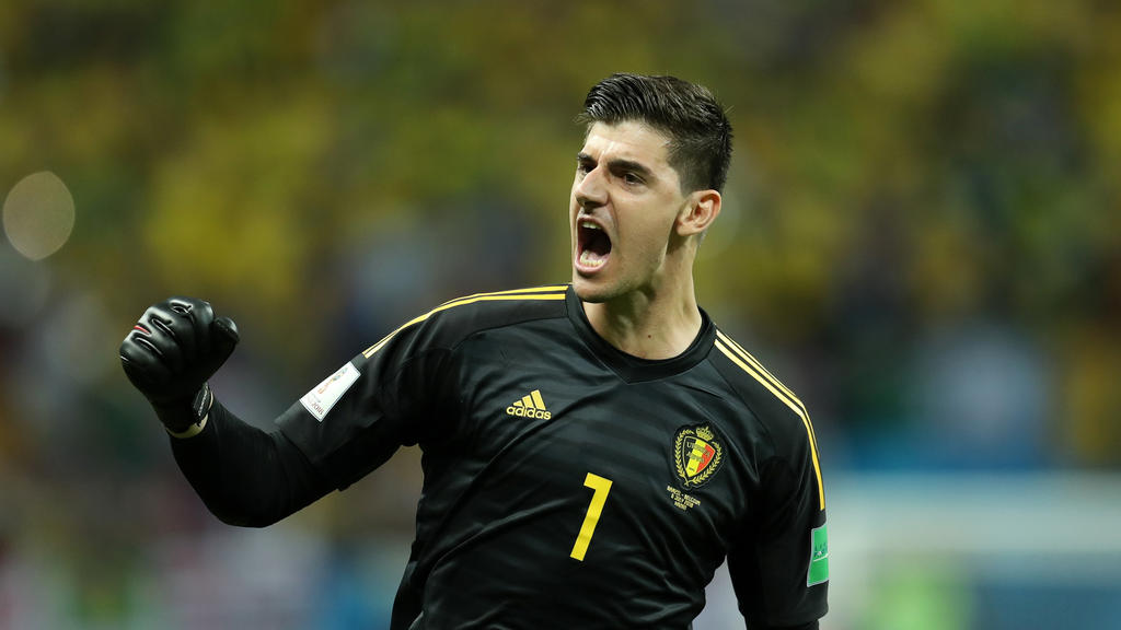 Courtois con la selección belga en el Mundial de Rusia. (Foto: Getty)