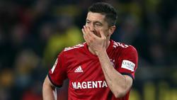 Robert Lewandowski traf doppelt gegen den BVB, der FC Bayern verlor dennoch
