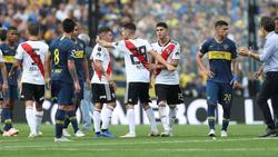 Boca estaba decidido a no disputar la vuelta de la final. (Foto: Imago)