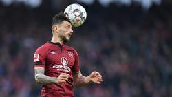 Der 1. FC Nürnberg bestätigt: Tim Leibold wechselt zum Ligakonkurrenten Hamburger SV. Foto: Matthias Merz