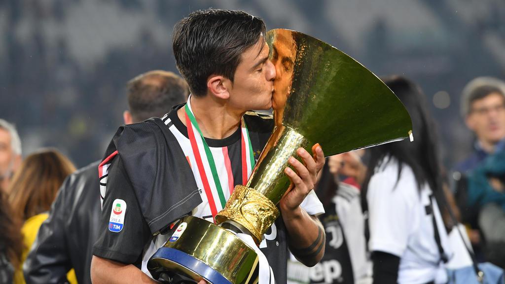 Paulo Dybala gewann mit Juventus die italienische Meisterschaft