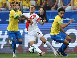 Guerrero no tuvo su día contra Brasil.