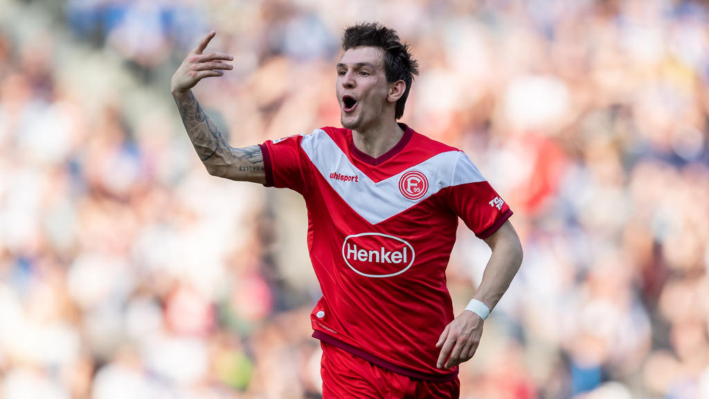 Vor Wechsel von Fortuna Düsseldorf zum FC Schalke 04: Benito Raman