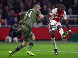 Bertrand Traoré überzeugt bei Ajax mit seiner guten Schusstechnik