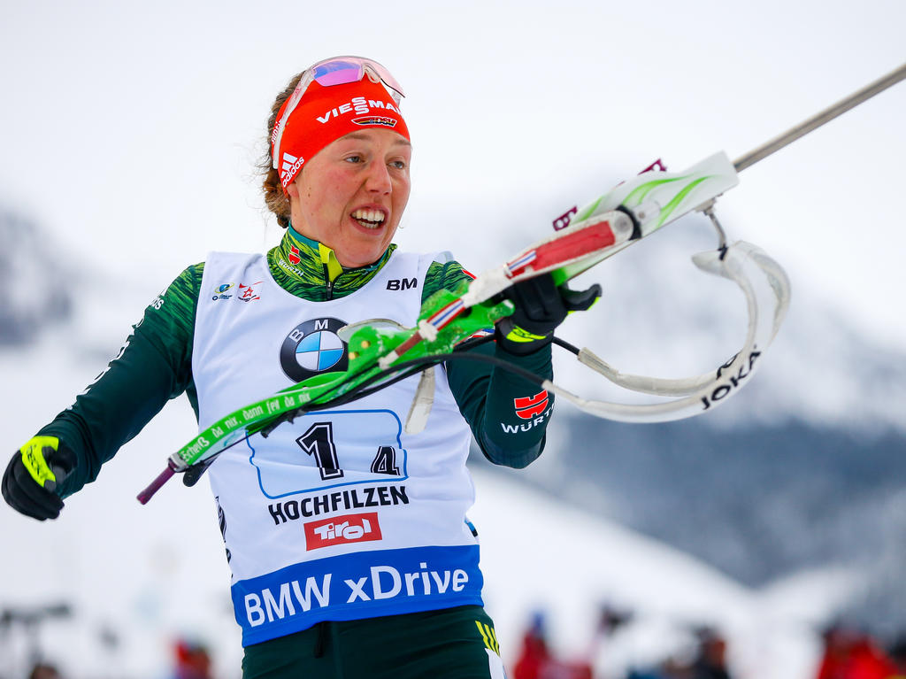 Laura Dahlmeier geht in Oberhof an den Start