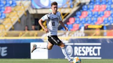 Erzielte bei der U21-EM sieben Tore für Deutschland: Luca Waldschmidt