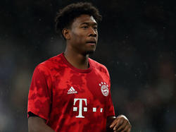 Alaba im Bayern-Trikot