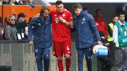Niklas Süle wird dem FC Bayern lange fehlen