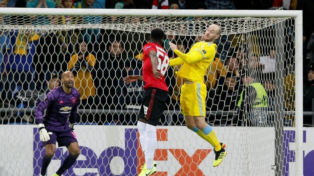 Manchster United verlor in der Europa League