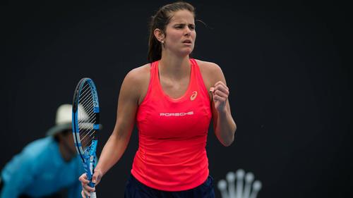 Julia Görges steht bei den Australian Open in der 3. Runde