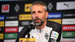 Gladbach-Coach Marco Rose muss im Derby auf vier Spieler verzichten