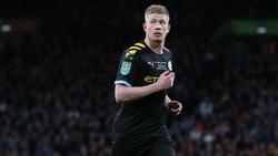 Kevin De Bruyne steht bei Manchester City noch bis 2023 unter Vertrag