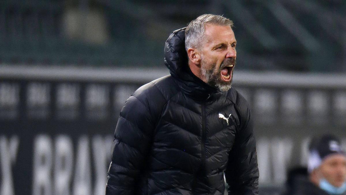 Gladbach-Trainer Marco Rose wünscht sich mehr Cleverness