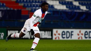 PSG-StürmerMoise Kean avanciert mit seinem goldenen Treffer zum Matchwinner der Partie