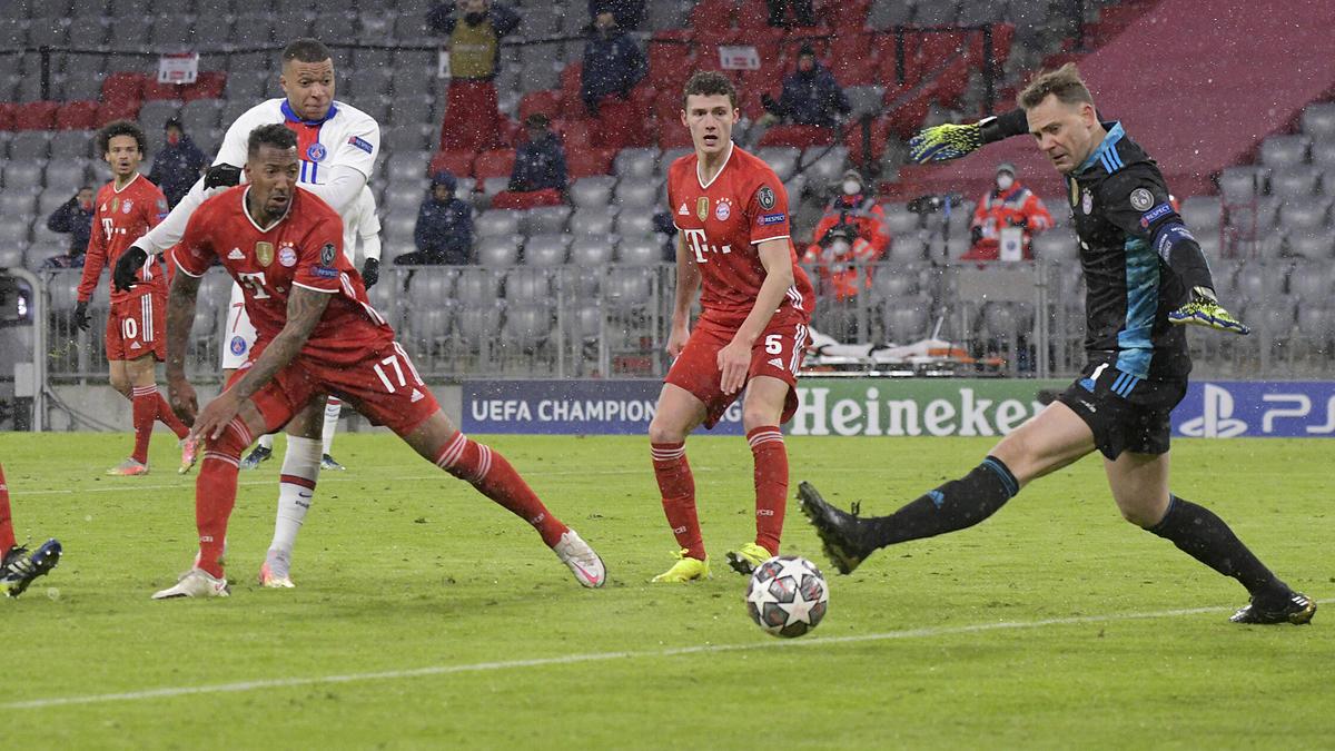 Mbappé traf gegen den FC Bayern doppelt
