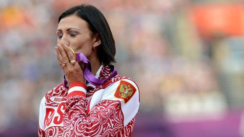 Natalja Antjuch wurde gesperrt