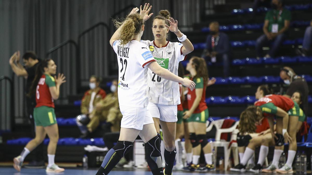 Setzen sich die DHB-Frauen auch im Rückspiel gegen Portugal durch?