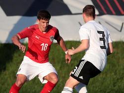 Jonaus Auer im U18-Team (2018)