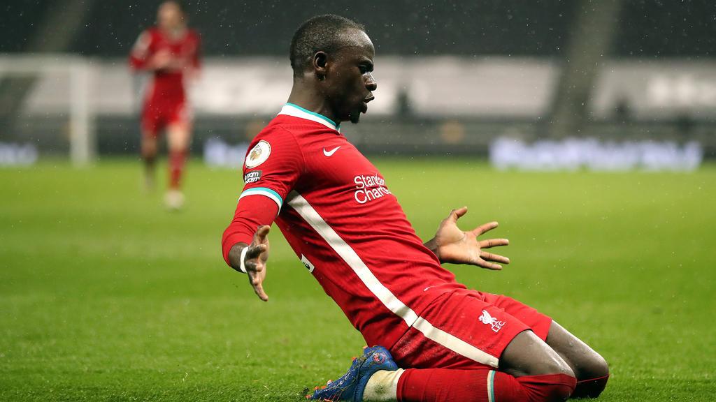 Sadio Mané vom FC Liverpool soll das Interesse des FC Bayern geweckt haben