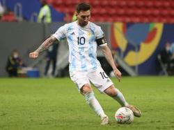 Lionel Messi will mit Argentinien endlich über die begehrte Trophäe jubeln
