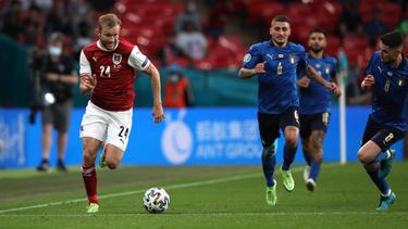Österreich bot Italien im EM-Achtelfinale einen engen Kampf an