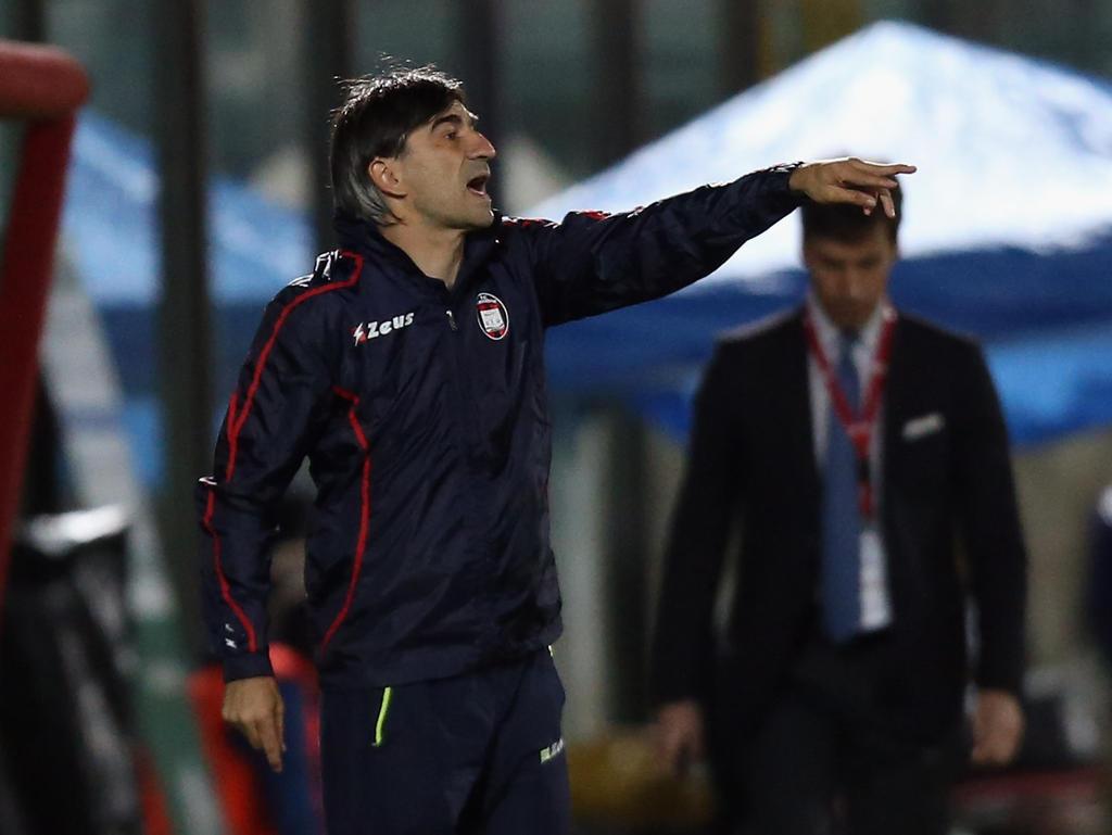 Ivan Jurić stand zuletzt beim FC Crotone an der Seiteninie