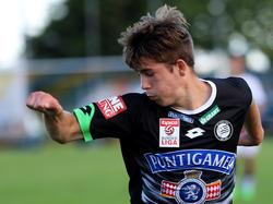 Romano Schmid (16) von Sturm Graz ist der derzeit jüngste Kaderspieler