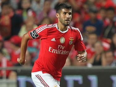 Lisandro López marcó el primer tanto del Benfica. (Foto: Getty)