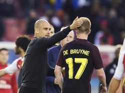 Hace poco, Pep Guardiola comparó a De Bruyne con Messi. (Foto: Getty)
