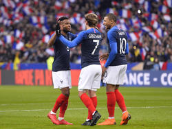 Antoine Griezmann und Thomas Lemar (l.) kicken bald Seite an Seite für Atlético