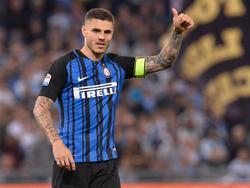 Icardi es la referencia en la punta de ataque del Inter. (Foto: Getty)