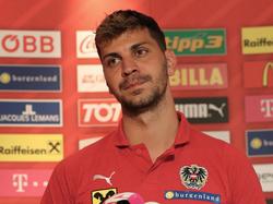 Dragović bei der PK