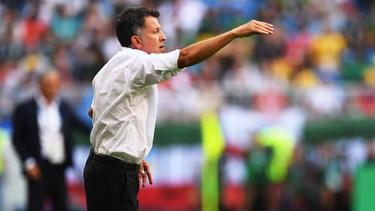 Steht vor dem Abschied: Mexikos Trainer Juan Carlos Osorio
