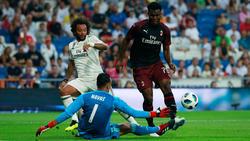 Real schlägt Milan in der Vorbereitung
