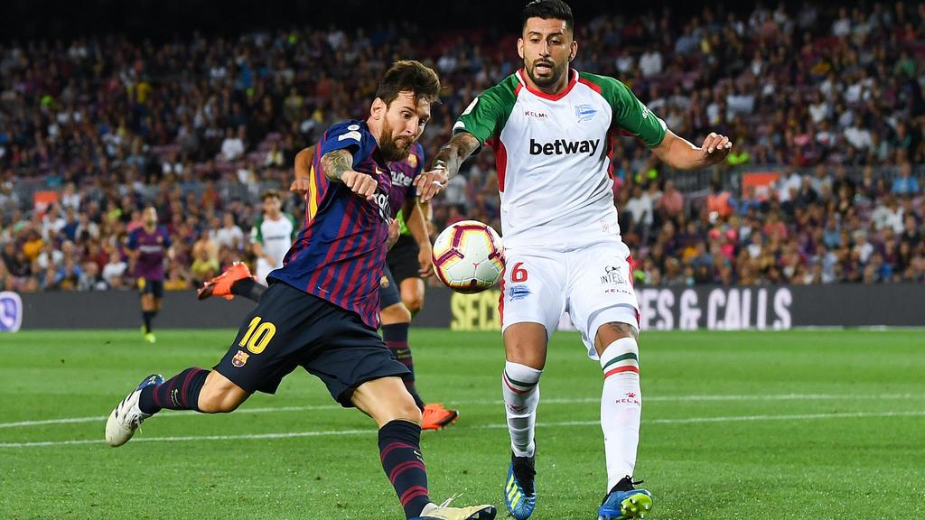 Lionel Messi führt den FC Barcelona zum Sieg