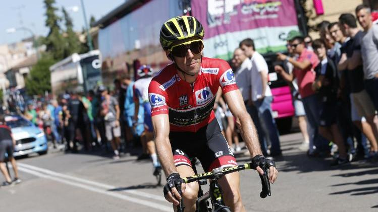 Führt die Vuelta auch nach der 19. Etappe an: Simon Yates
