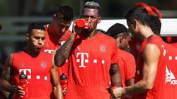 Jerome Boateng hat am Dienstag wieder trainiert