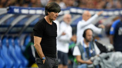 Bundestrainer Joachim Löw hat sich den Fragen der Presse gestellt