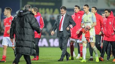 El Benfica se marchó decepcionado del encuentro. (Foto: Imago)