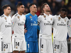 Keylor Navas volvió a ser titular con el Real Madrid. (Foto: Getty)