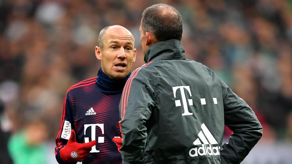 Arjen Robben denkt über seine Zukunft nach dem Abschied vom FC Bayern nach