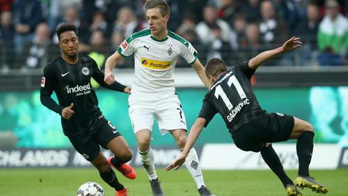 Eintracht Frankfurt und Borussia Mönchengladbach trennen sich am Sonntagnachmittag 1:1-Unentschieden
