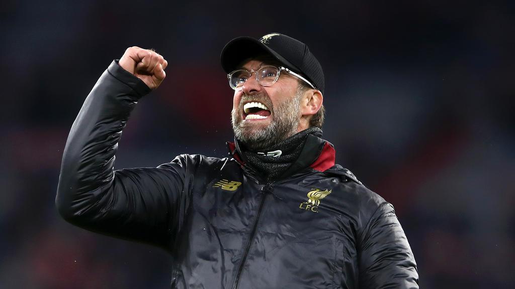 Jürgen Klopp steht mit dem FC Liverpool im Viertelfinale der Champions League