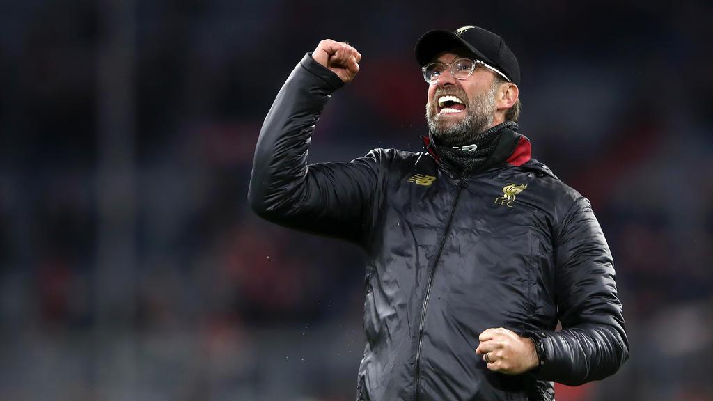 Jürgen Klopp und die Reds besiegten den FC Bayern
