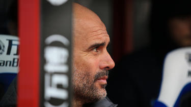 Pep Guardiola steht in der Kritik