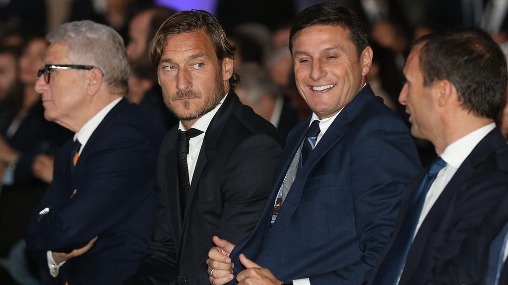 Francesco Totti hat AS Rom scharf kritisiert