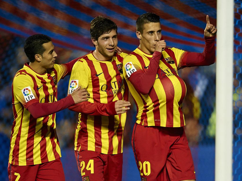 El Marsella se interesa por uno de estos tres jugadores del Barcelona. (Foto: Getty)