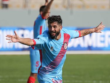 Lucas Wilchez celebra uno de los goles de su equipo. (Foto: Imago)