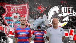 Jan Kirchhoff (l.) und Trainer Heiko Vogel (r.) hoffen auf eine erfolgreiche Saison beim KFC Uerdingen