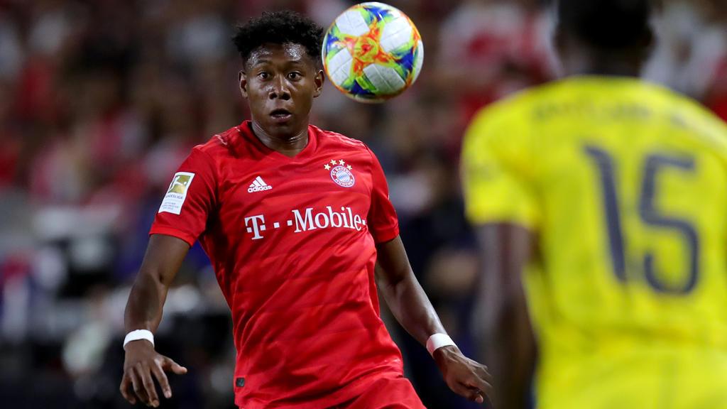 Steht noch zwei Jahre beim FC Bayern München unter Vertrag: David Alaba